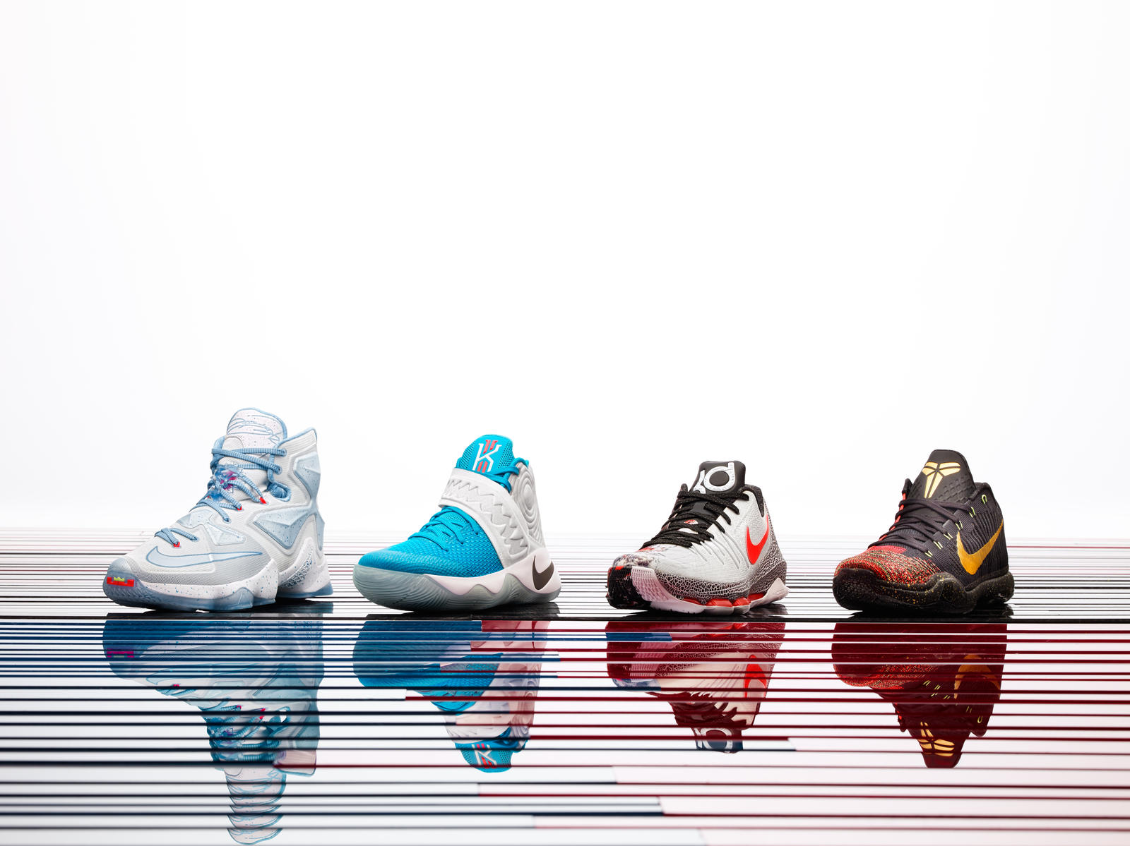 Christmas Shoe.Fire And Ice The 2015 Nike Basketball Christmas Collection