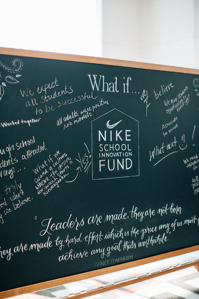 Nike School Innovation Fund Invites Public High Schools to apply for 2016-2017 Grants