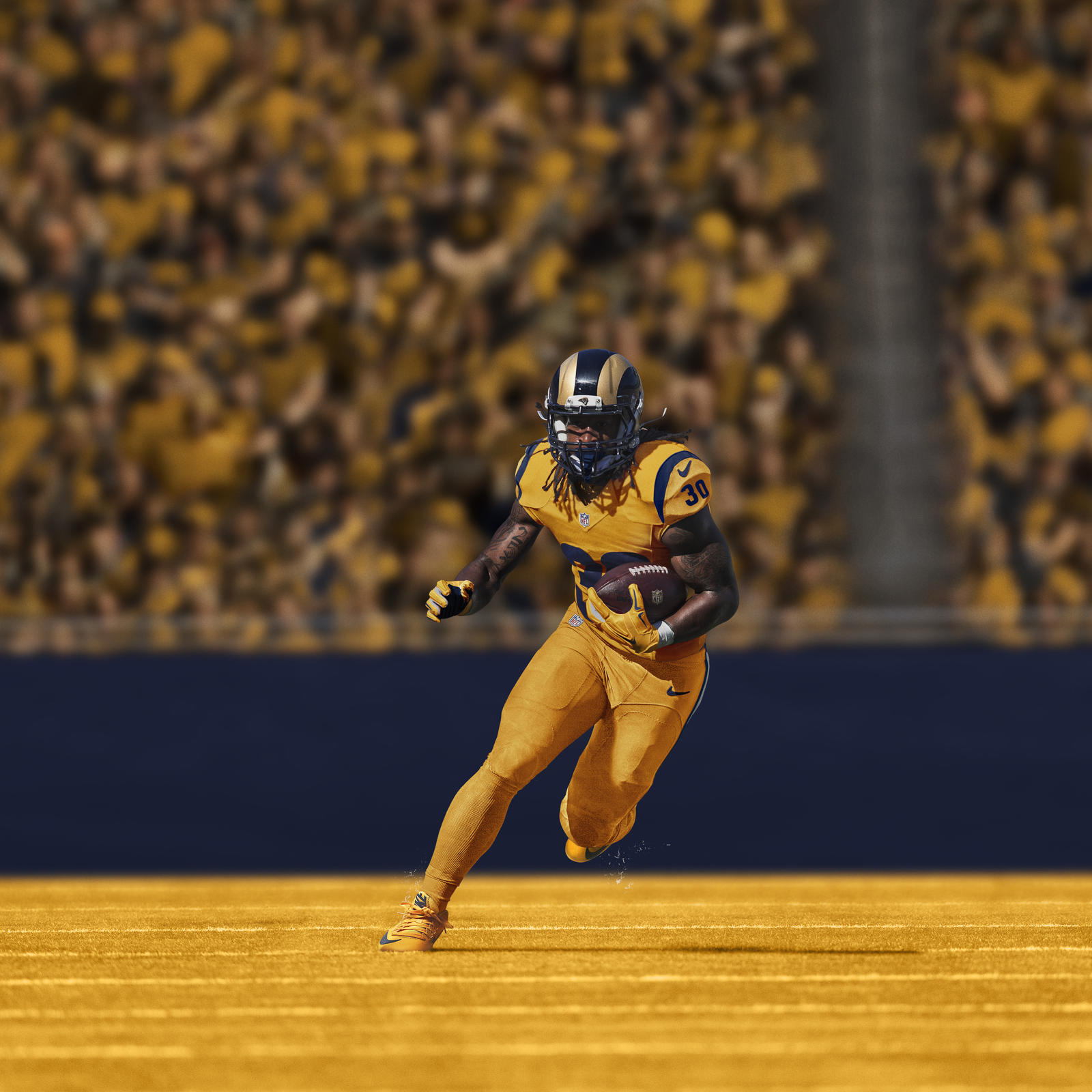 Ho15 Nfb Color Rush Na T Gurley Action 0868