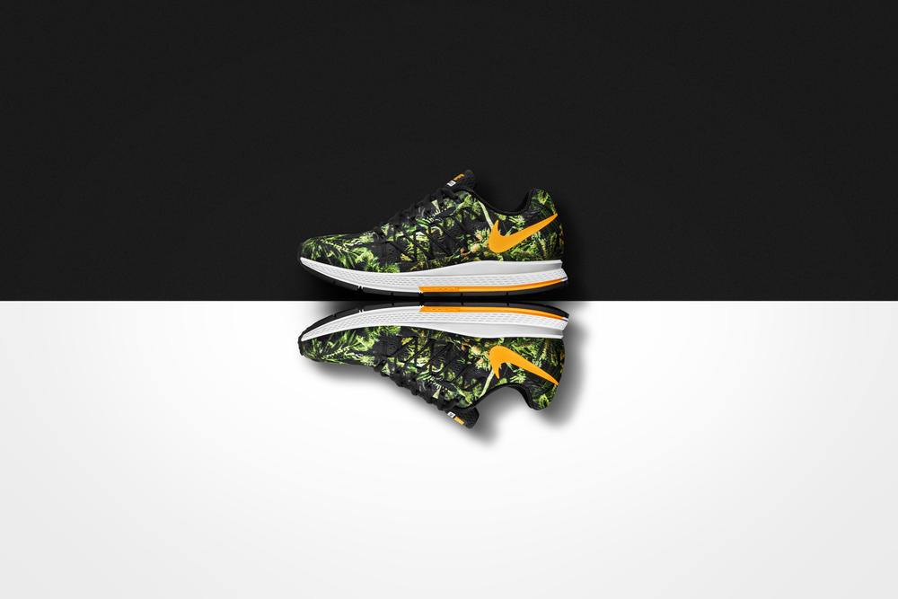 Nike Air Zoom Pegasus 32 e Nike Free 5.0 ganham estampa floral em celebração à chegada do verão