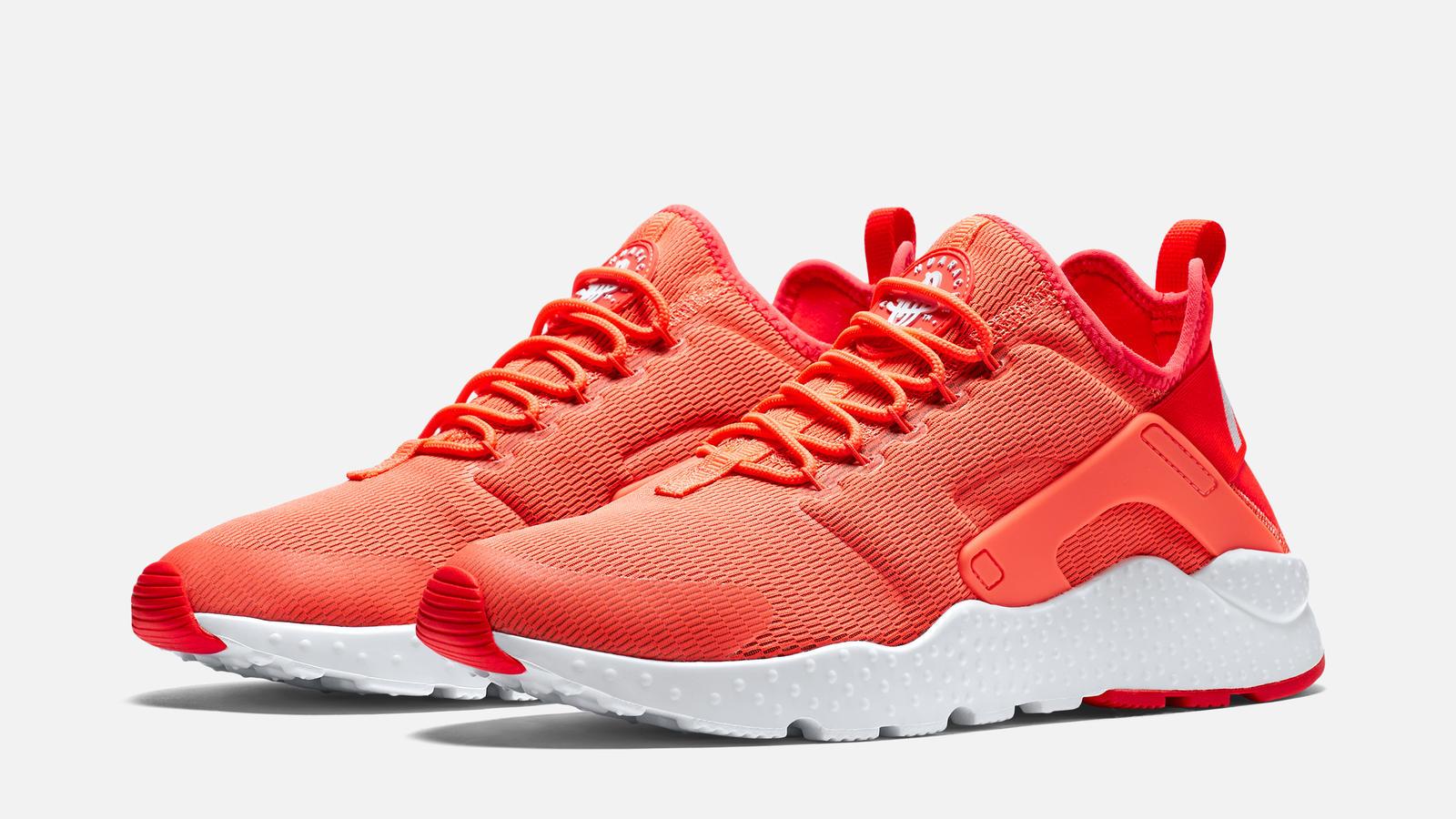 timeless design 00aec d46ad ... nike air huarache red and orange Nike Air Huarache Run Ultra - Mens ...