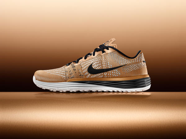 Limited-Edition Gold Nike Lunar Caldra
