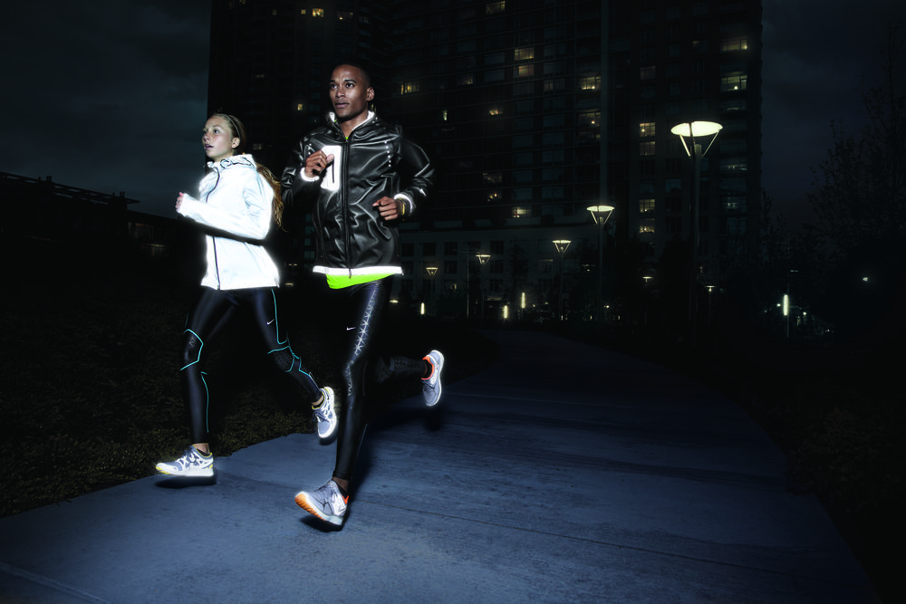 Experience the Dark: the Nike Holiday 2011 Running Collection