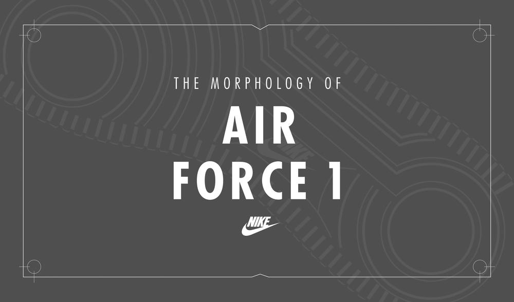 O tempo traz mudanças: A Morfologia do Air Force 1