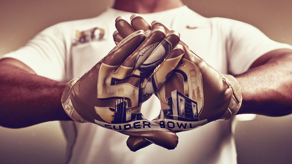 Nike Brings Gold to Super Bowl 50