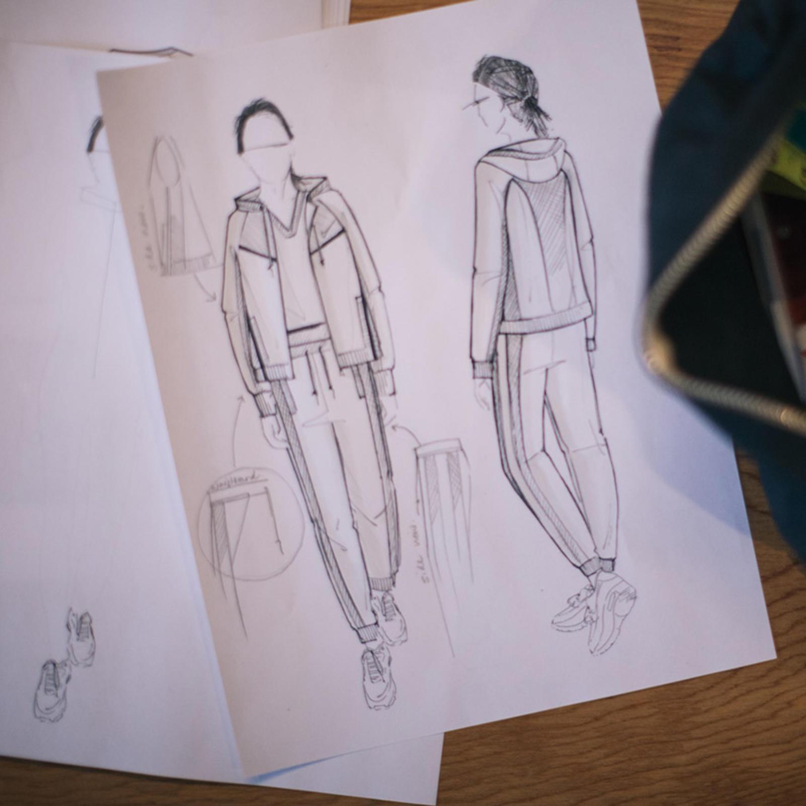 Jess Sketch 2 Original Original Porto