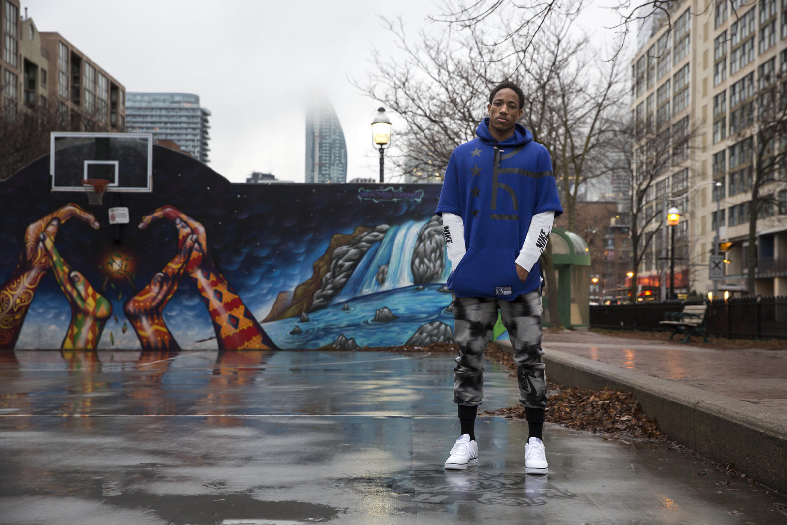 DeMar DeRozan's Toronto - Nike News