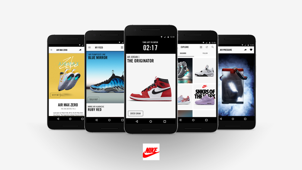 Nike's SNKRS Experience Elevated