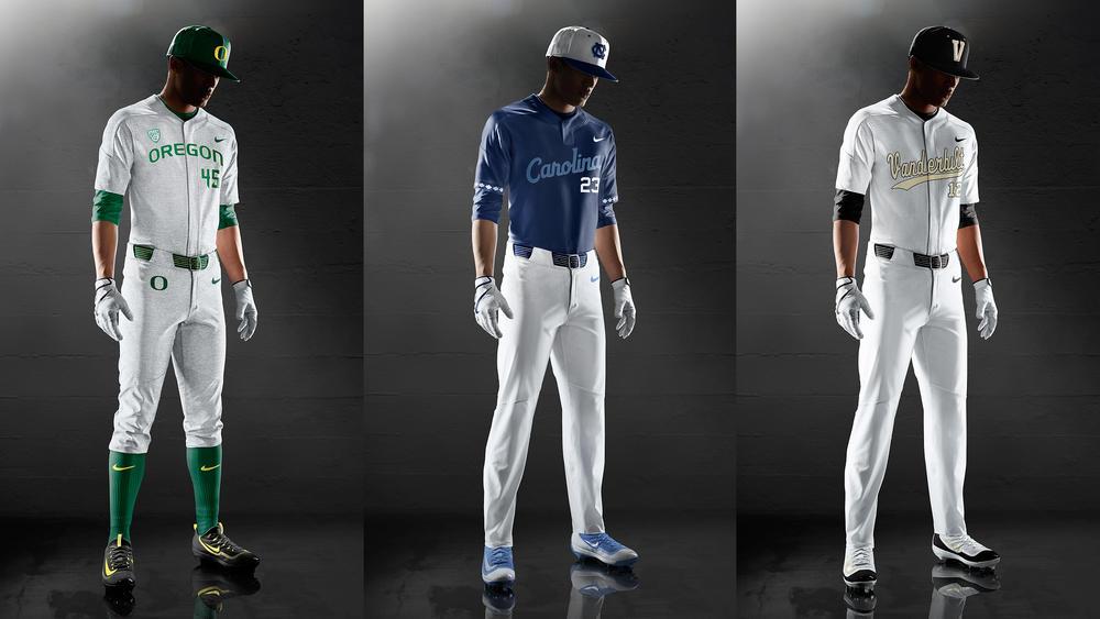 Select NCAA Baseball Programs Debut Nike Vapor Elite Uniform