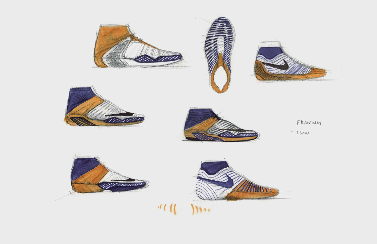 NikeCourt Air Zoom Ultrafly sketch_1