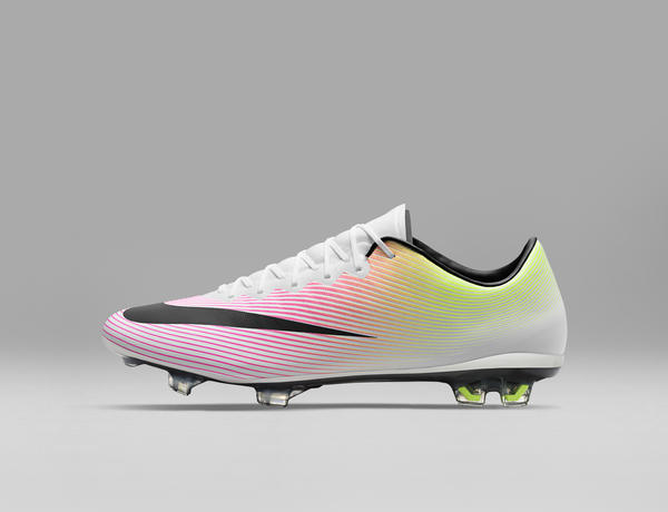 38ecf96d3b0 ... Mercurial 2016 boots is however the bold gradient Nike Football Men s  and Women s Radiant Reveal Pack ...