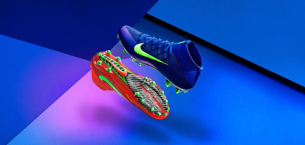 Nike Football Flashes Color at the Speed of Light