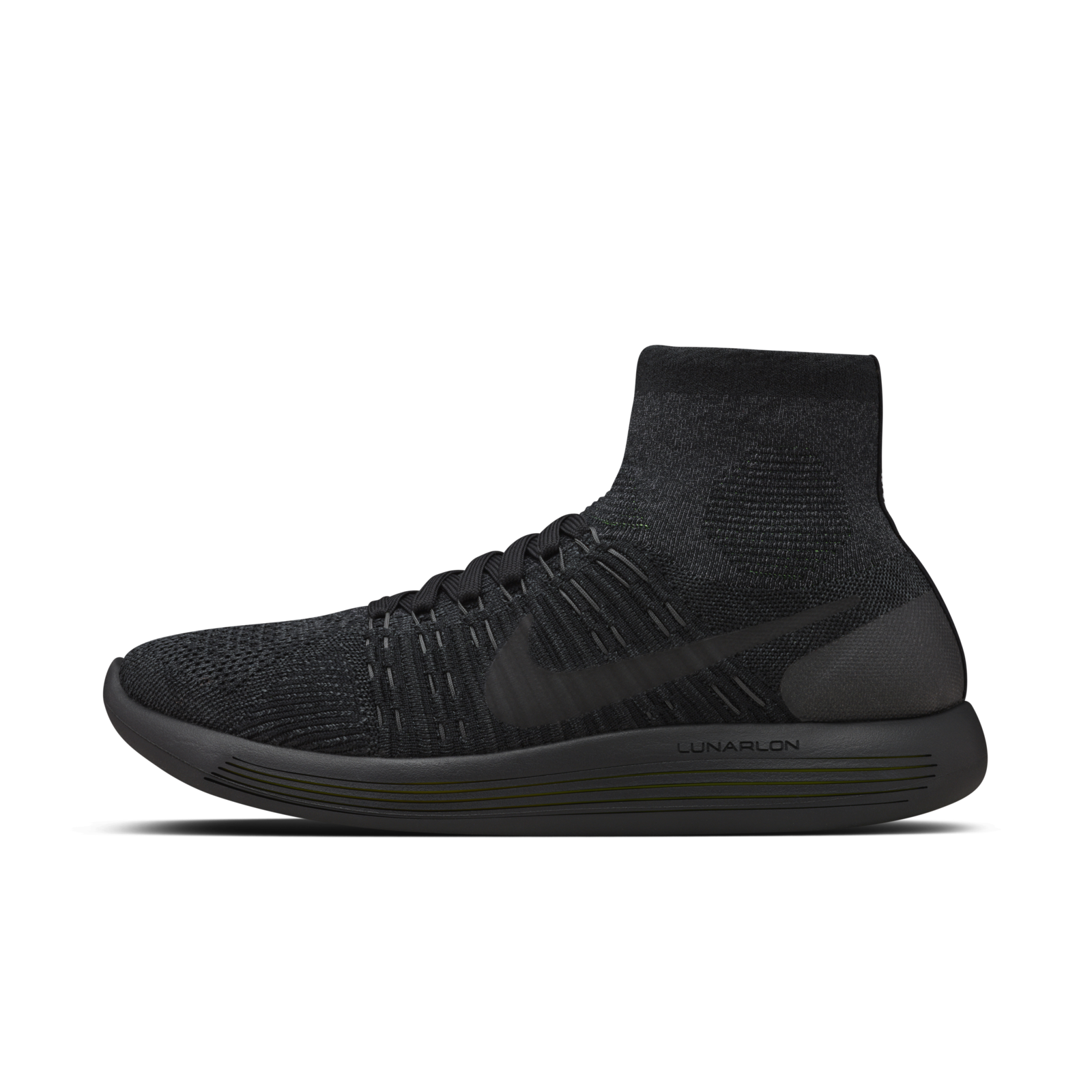 bdad9c24435d Mobile Gallery Image ... Nike LunarEpic Flyknit Mens Running Shoes  BlackAnthracite ...