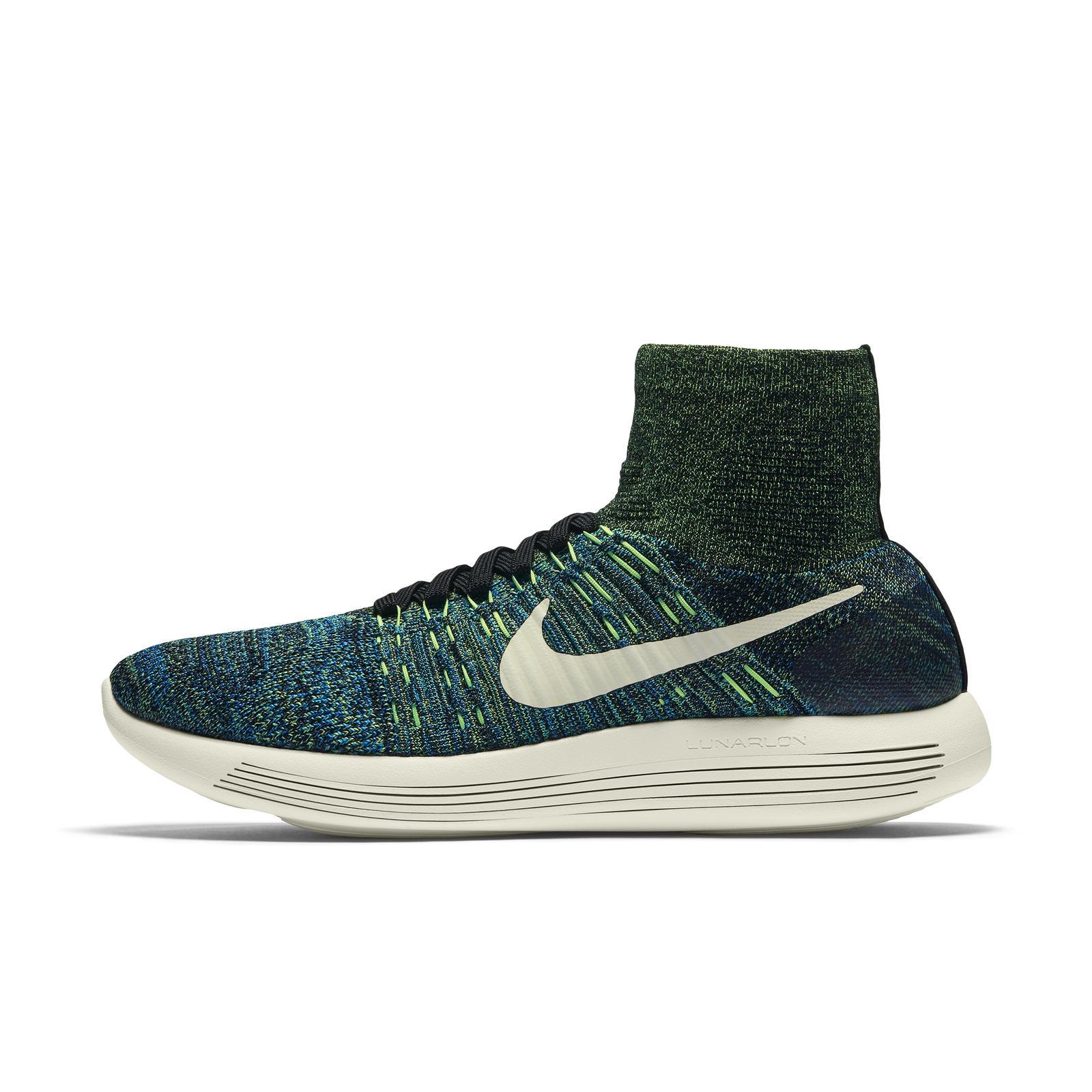 check out eccba 43788 Mobile Gallery Image ... Mens Nike Lunarepic Flyknit Deep Royal Blue Black  Volt Running Shoes 818676 400 Nike LunarEpic Flyknit Shoelace Sizes Exact  ...