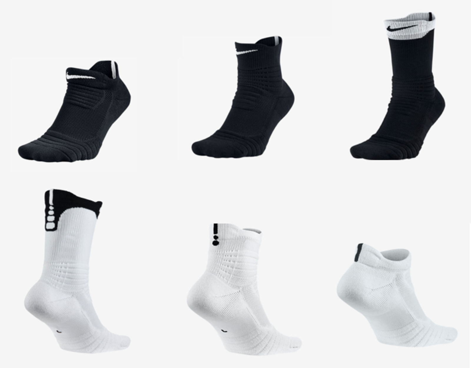 2016 Nike Elite Versatility Socks Deliver Exceptional ...