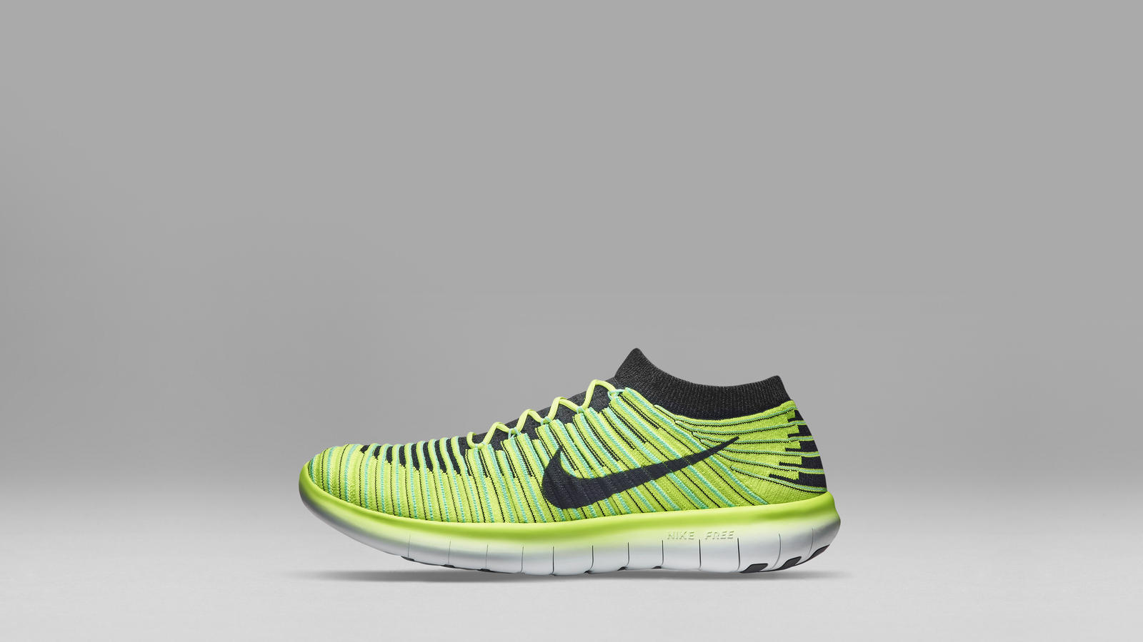 2 NIKE FREE RN MOTION FLYKNIT 30 Grey Women Men Top Deals