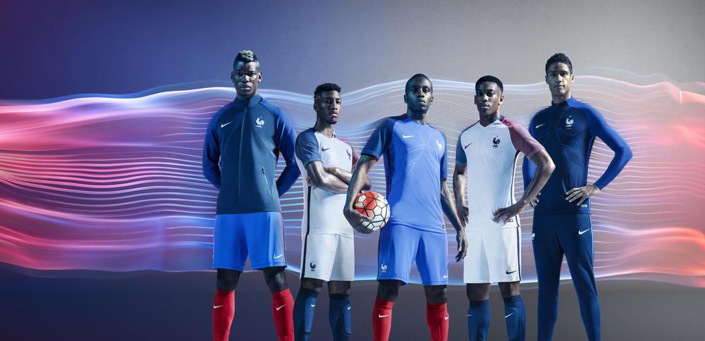 France 2016 National Football Kits