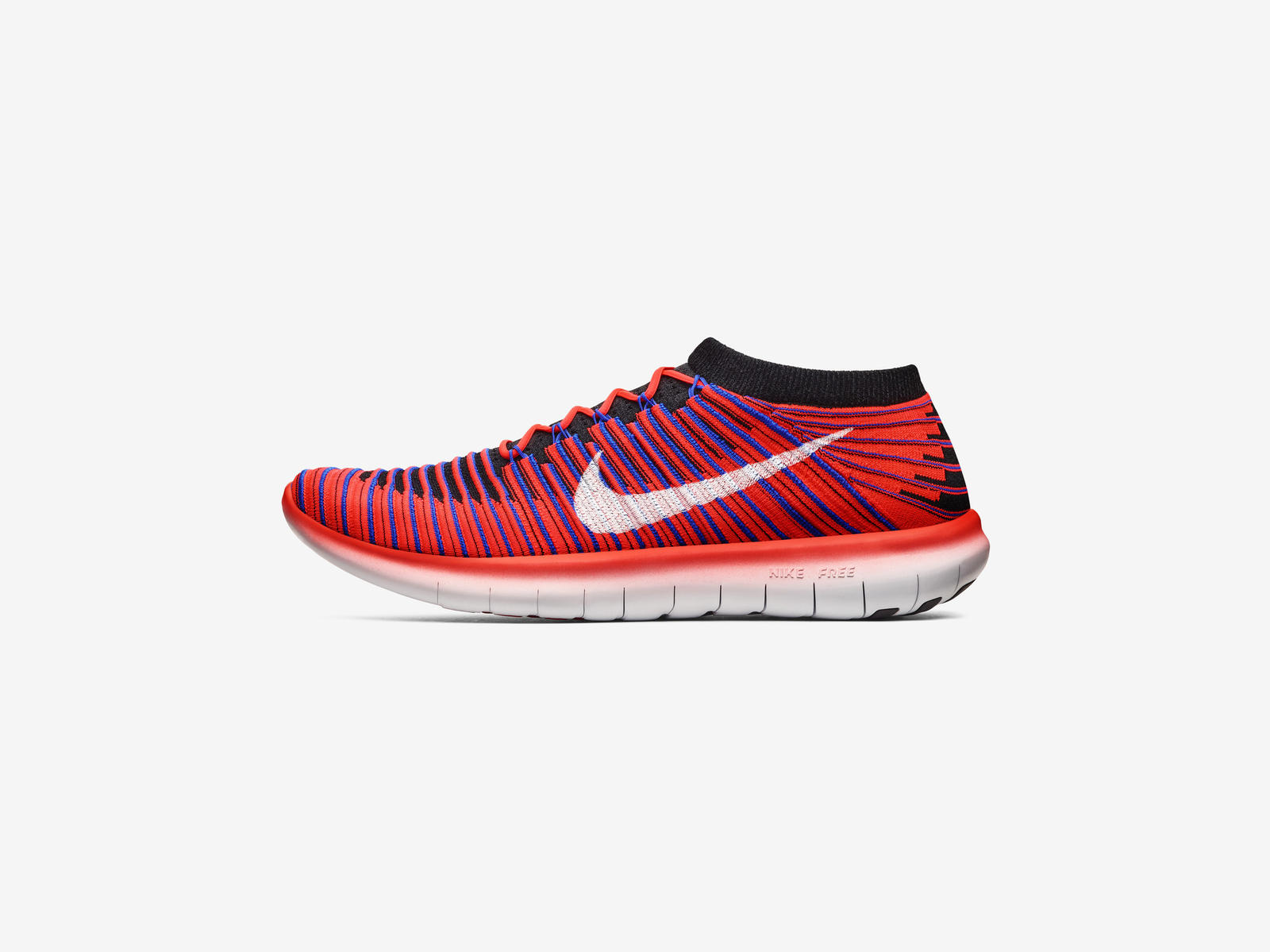 Nike Free Rn Motion Flyknit  Women S Running Shoe