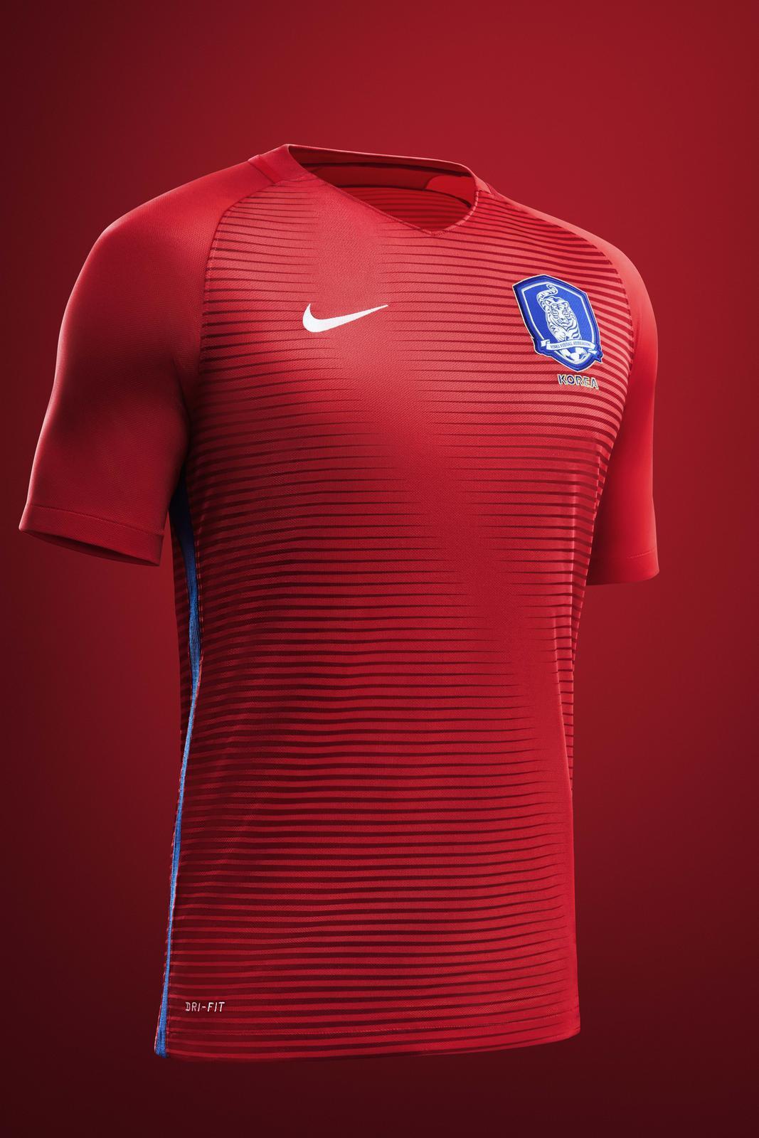 South Korea 2016 National Football Kits Nike News
