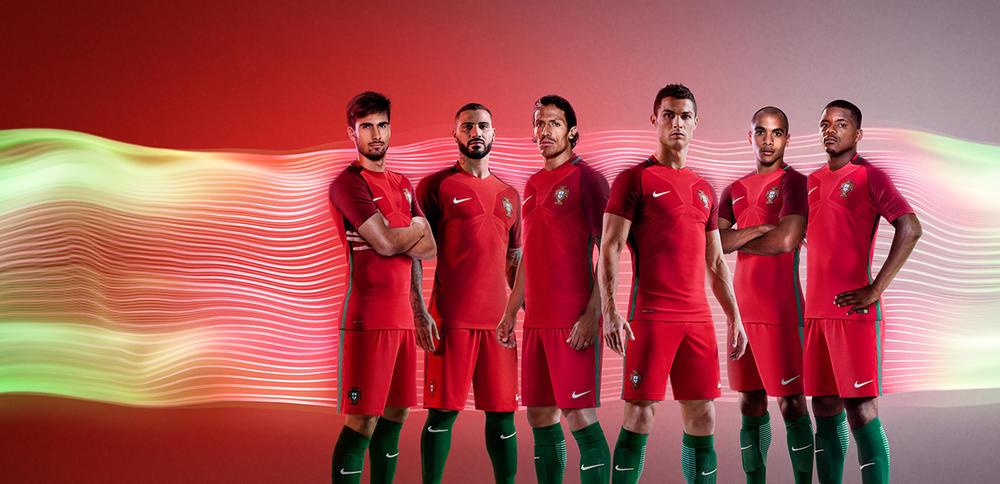 Portugal 2016 National Football Kits