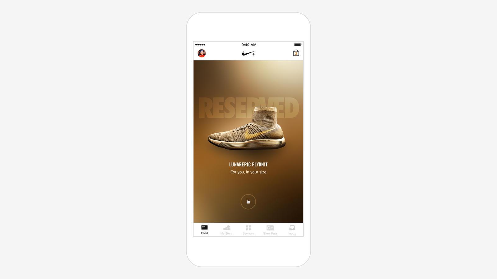 Nike+ Feed