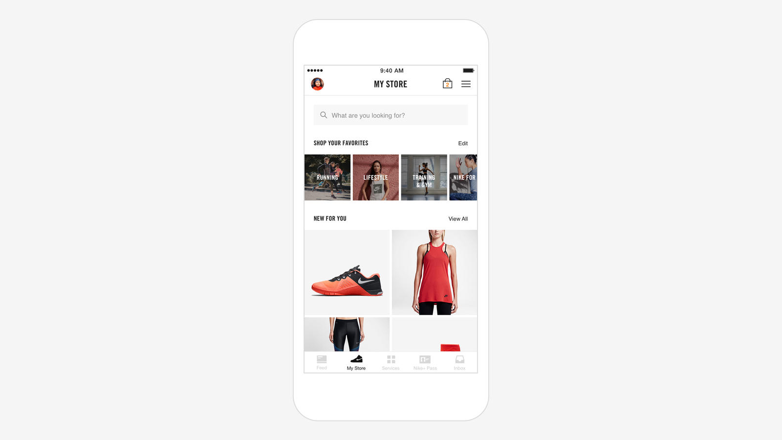 Nike+ Store