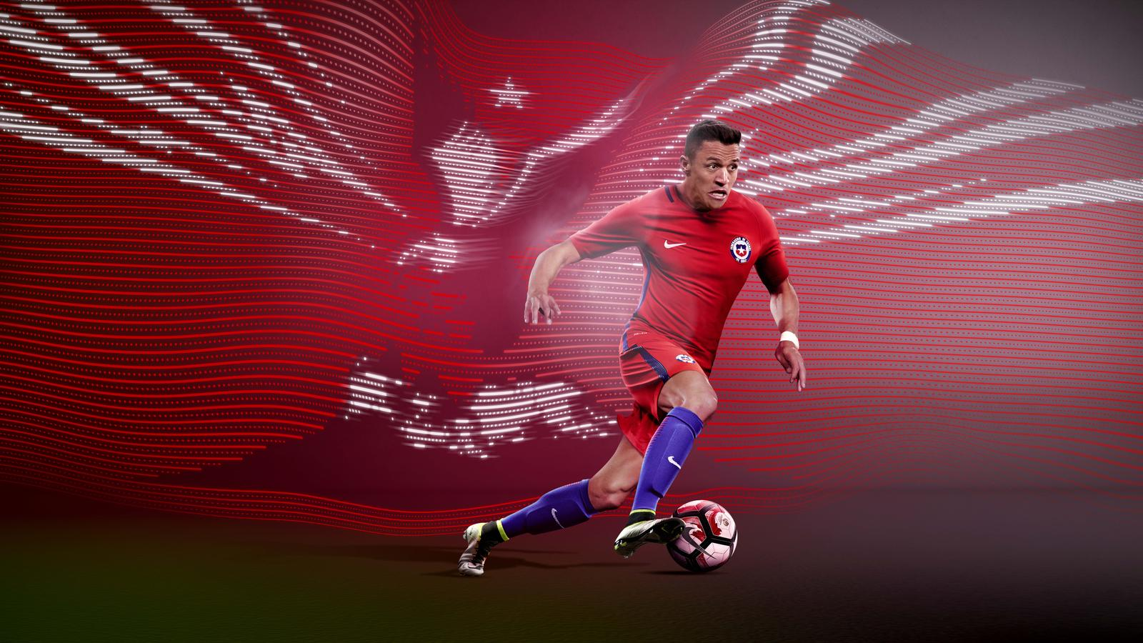 Chile 2016 National Football Kits