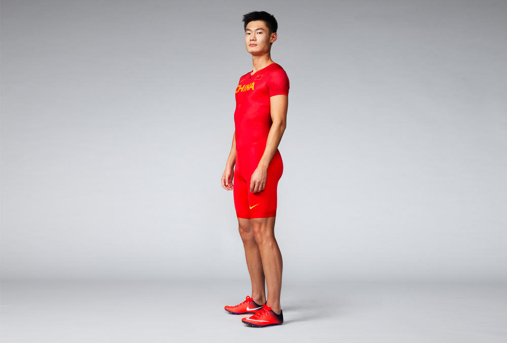 China 2016 Nike Vapor Track & Field Kits