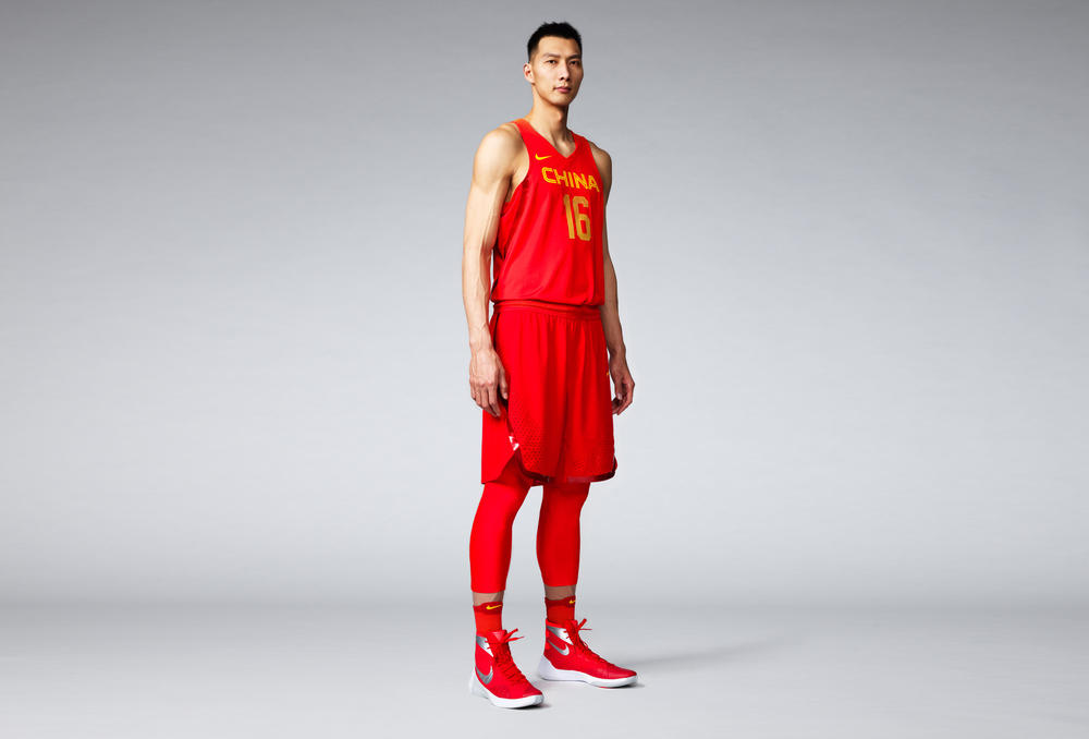 China 2016 Nike Vapor Basketball Uniforms