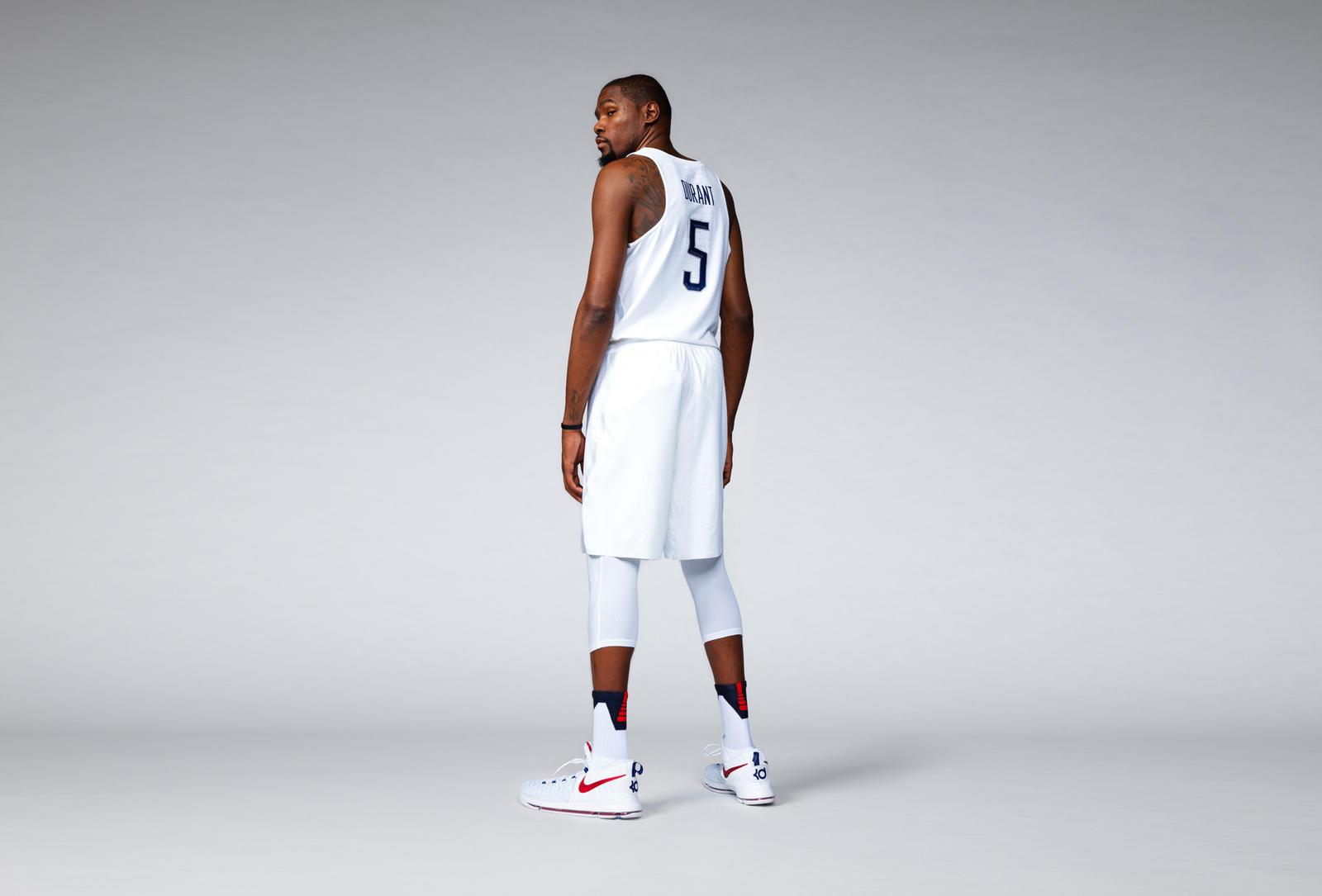 Kevin durant uniform shorts
