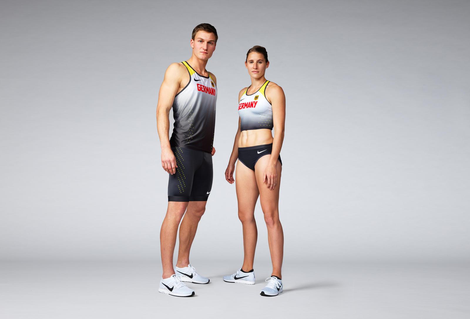 0d75d3fcc1432 Thomas Röhler and Carolin Schäfer in Germany 2016 Nike Vapor Track & Field  Kits
