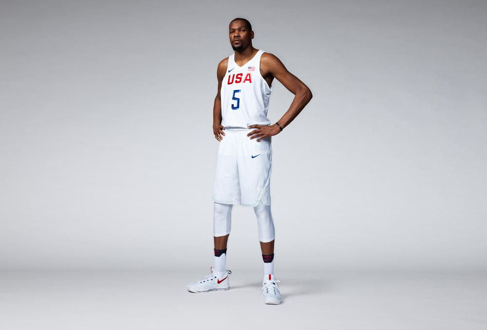 USA 2016 Nike Vapor Basketball Uniforms