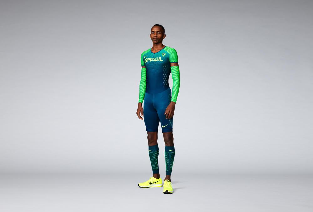 Brasil 2016 Nike Vapor Track & Field Kits