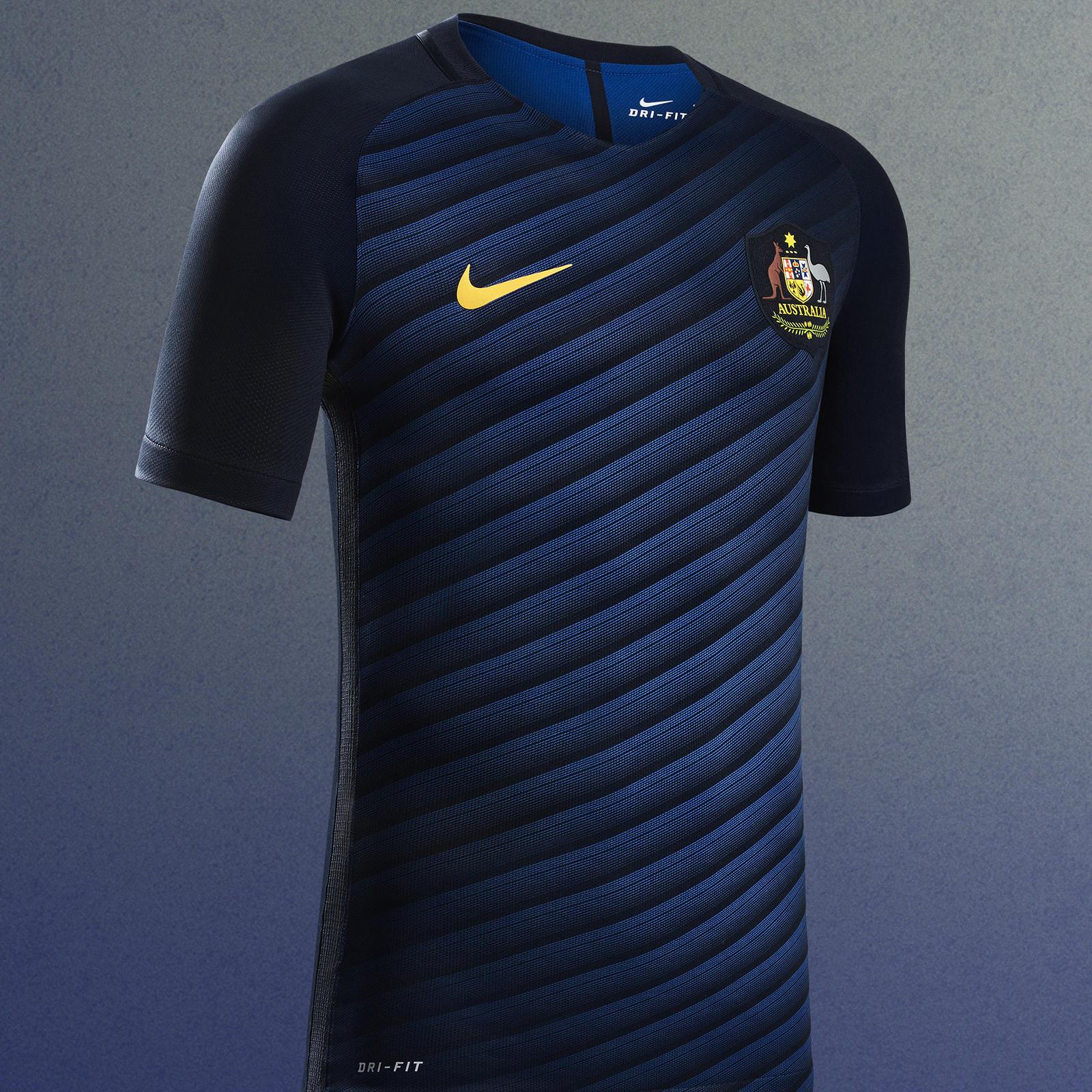 6f1d9863aaf Australia 2016 National Football Kits - Nike News