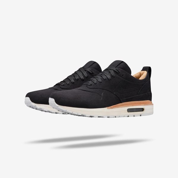 Nike Womens Shoes - NikeLab Air Max 1 Royal Black/Black/Black E46j5552