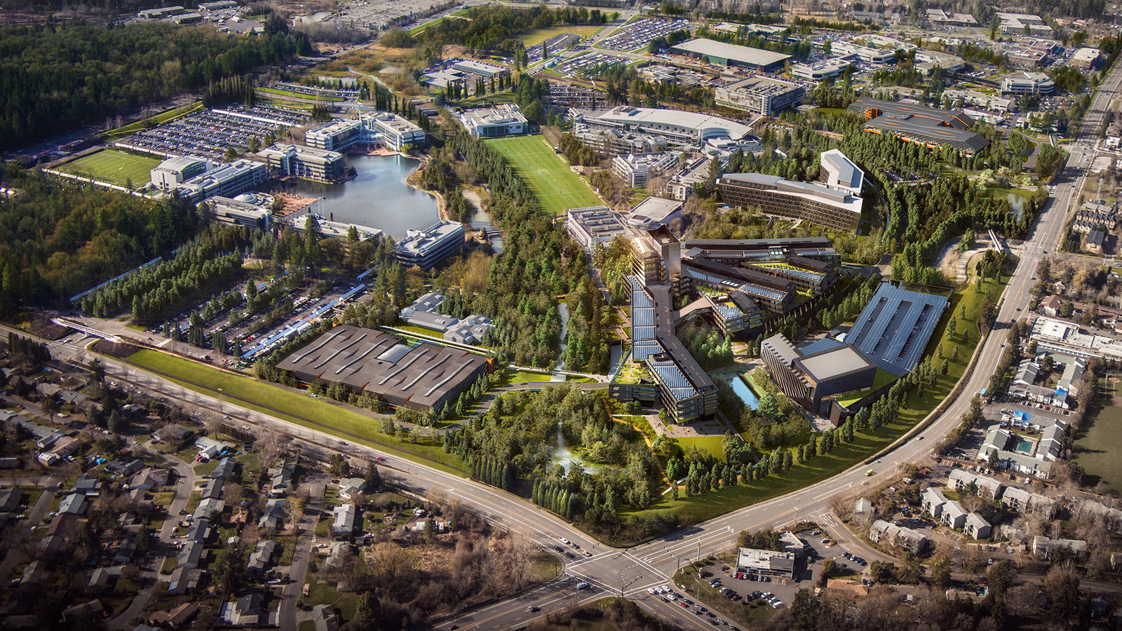Nike Inc Reveals Design For World Headquarters Expansion