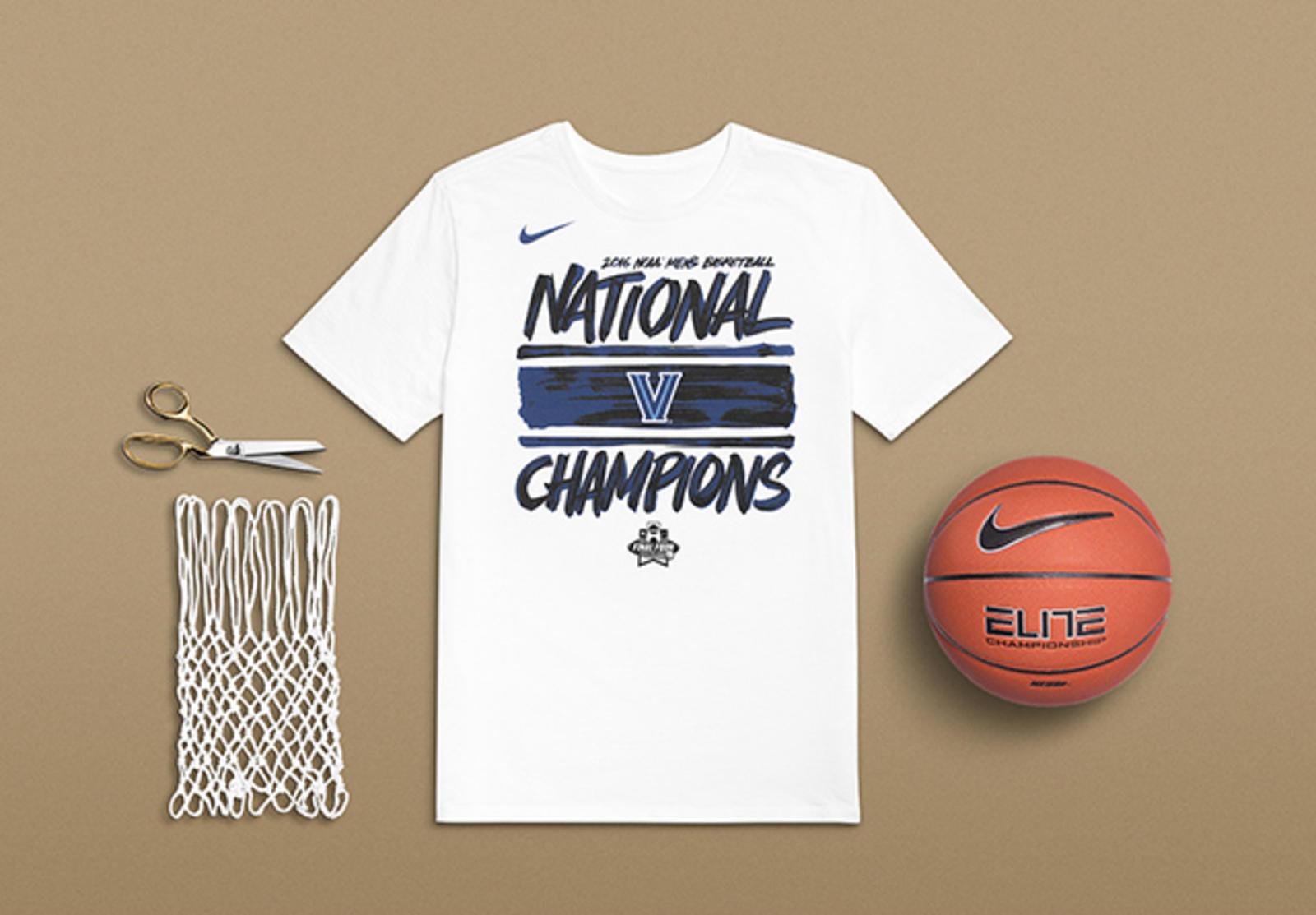 Nike Villanova National Championship T-shirt