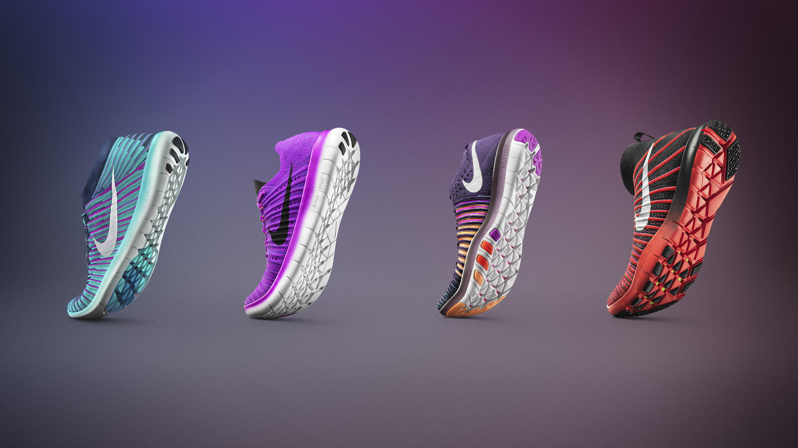 Nike Free Auxetic Midsole Technology for Running and Training