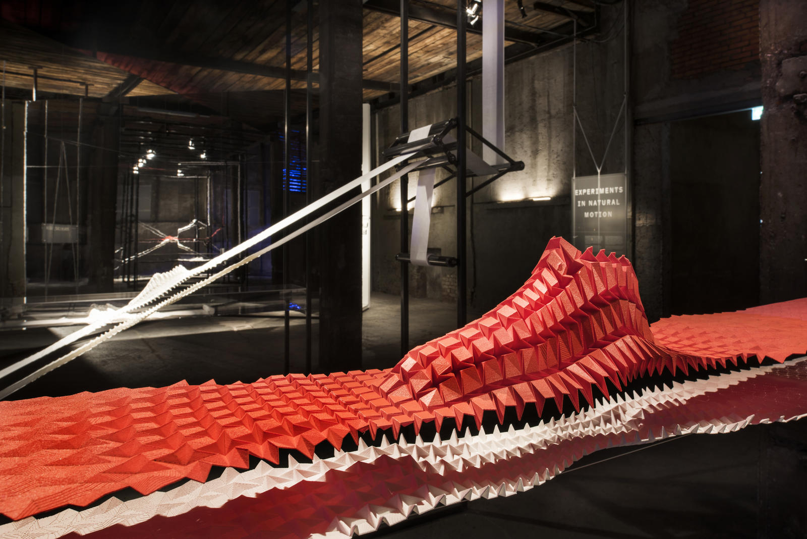Inside the nature of motion at milano design week nike news for Basketball store milano