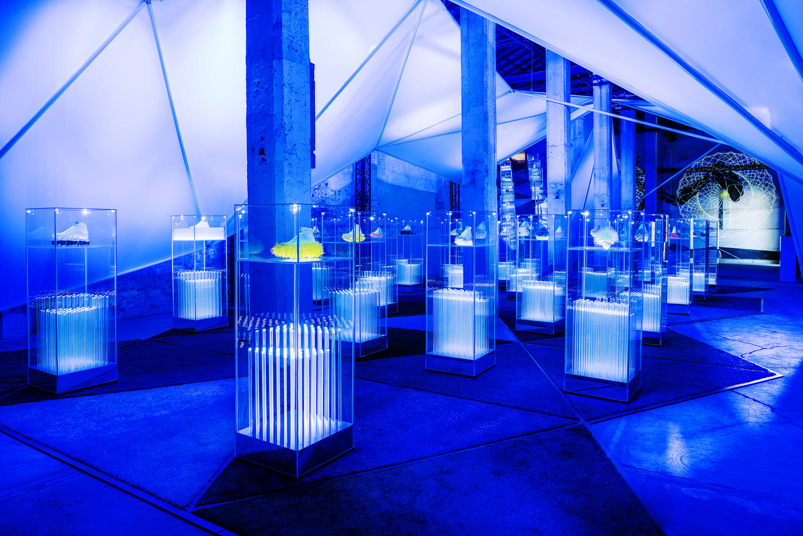 Inside the nature of motion at milano design week nike news for Milano week design