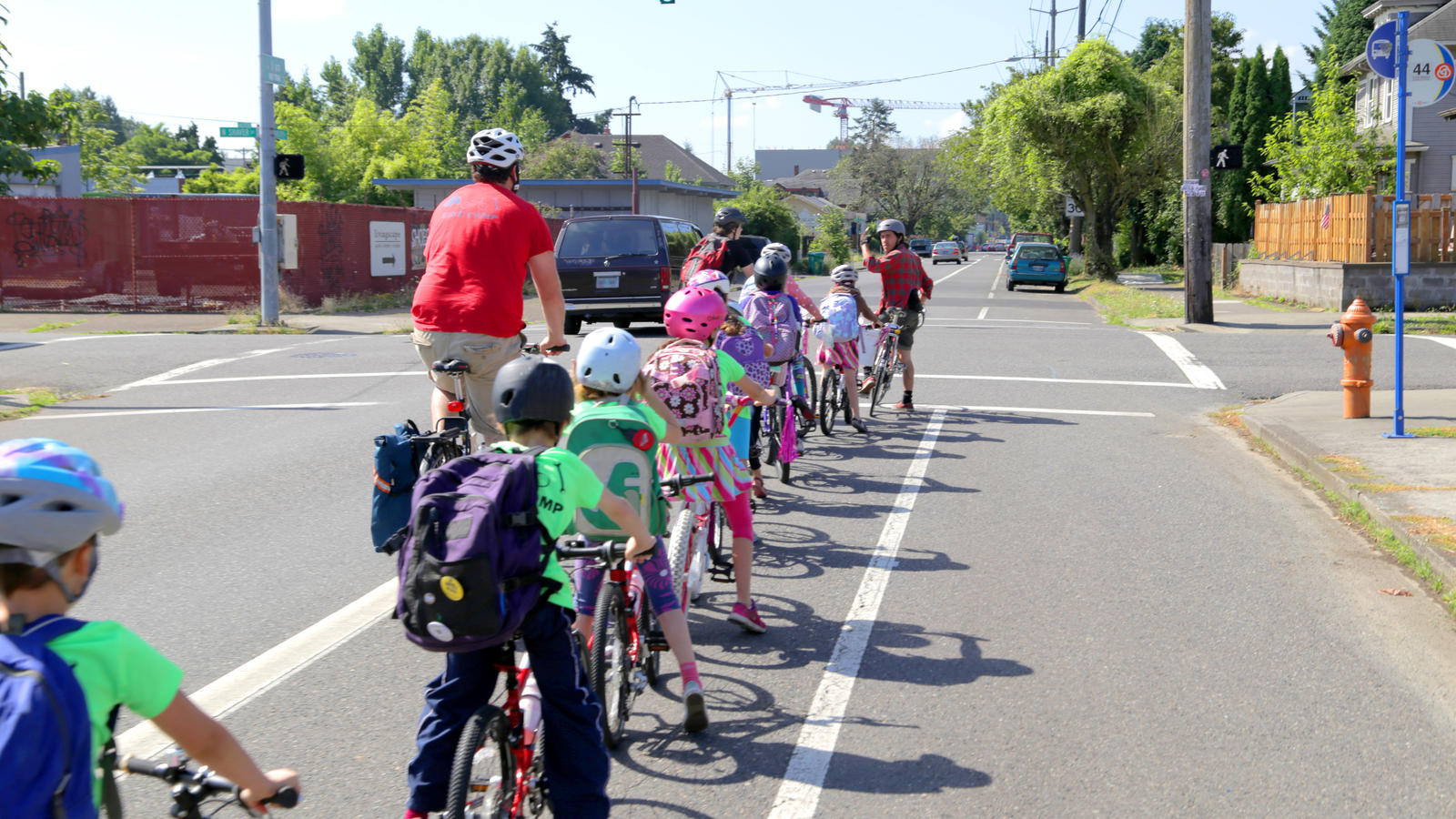 Nike has funded more than 70 bike-camp scholarships, including offsite camps in low-income communities, where the Community Cycling Center conducts free bike repair in the spring and summer.