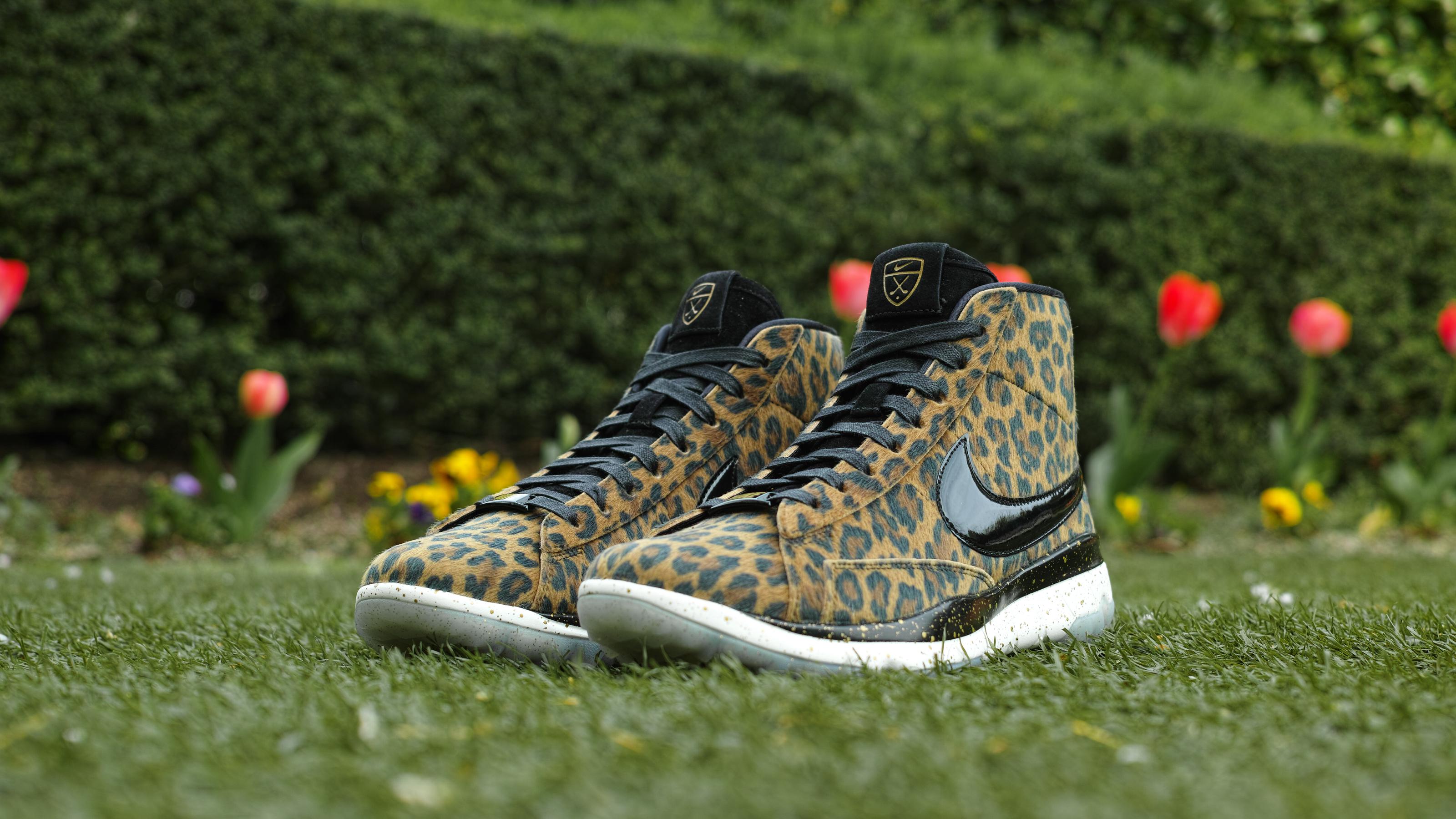 nike free leopard print release date