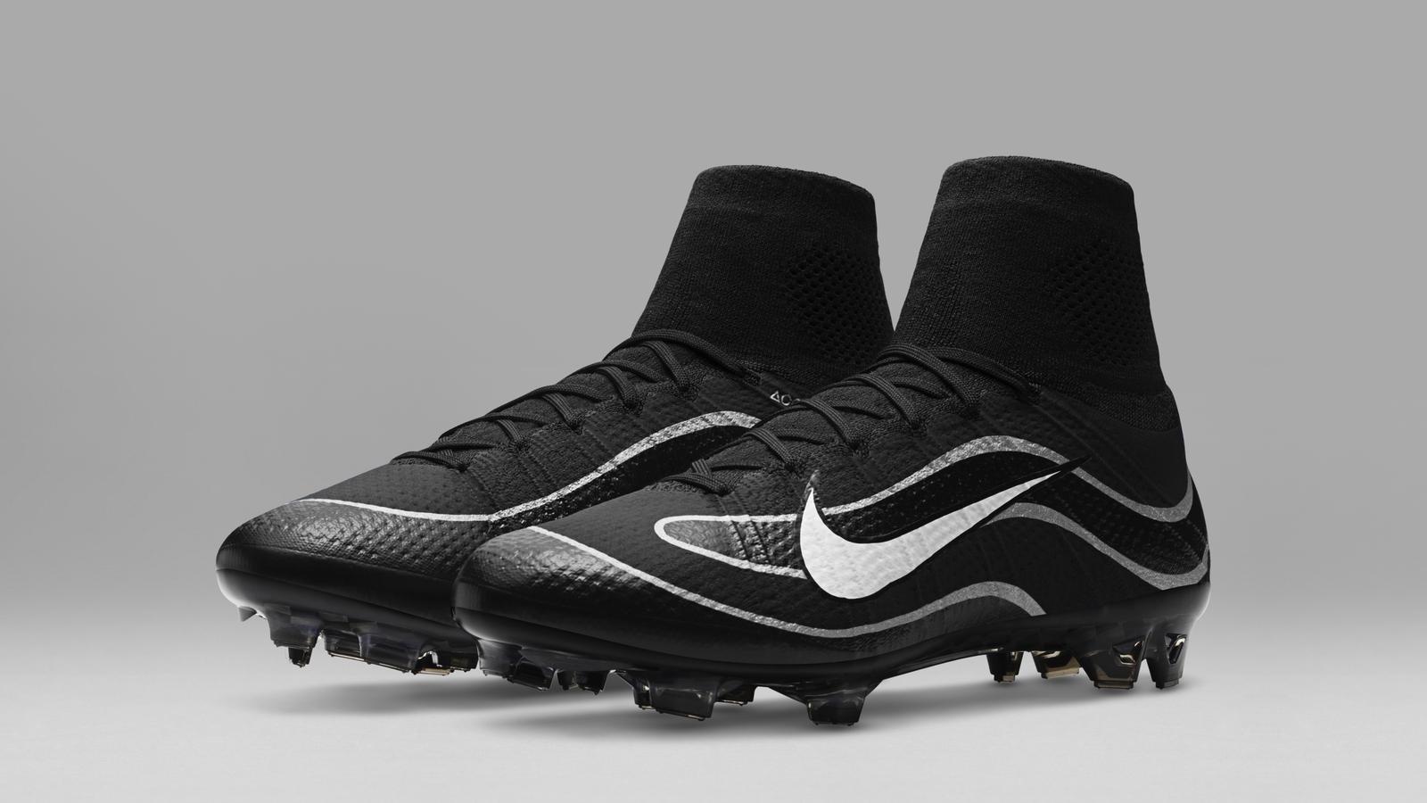 Nike Mercurial Superfly Heritage iD Black Silver 141db4f0666