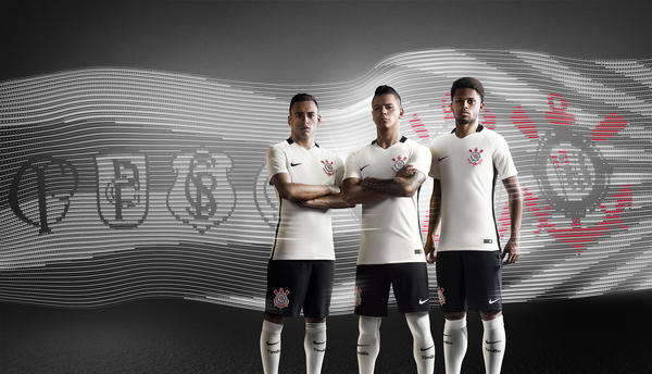 58fd40f7786 CORINTHIANS 2016 HOME FOOTBALL KIT - Nike News