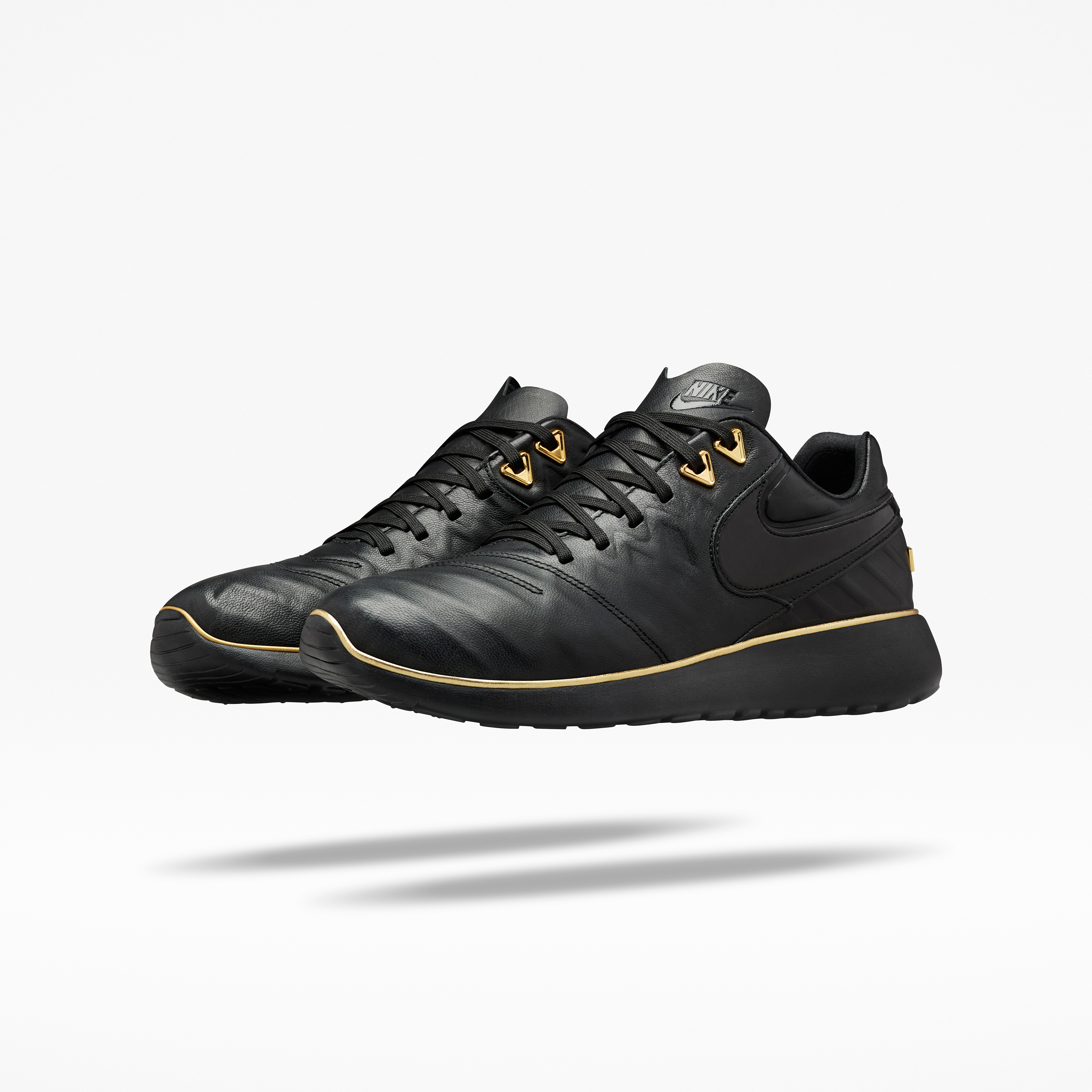 Nike Roshe Courir Auto Touche D'or Blanc Noir magasin d'usine Manchester rabais grande vente gkLcy3Yb1f