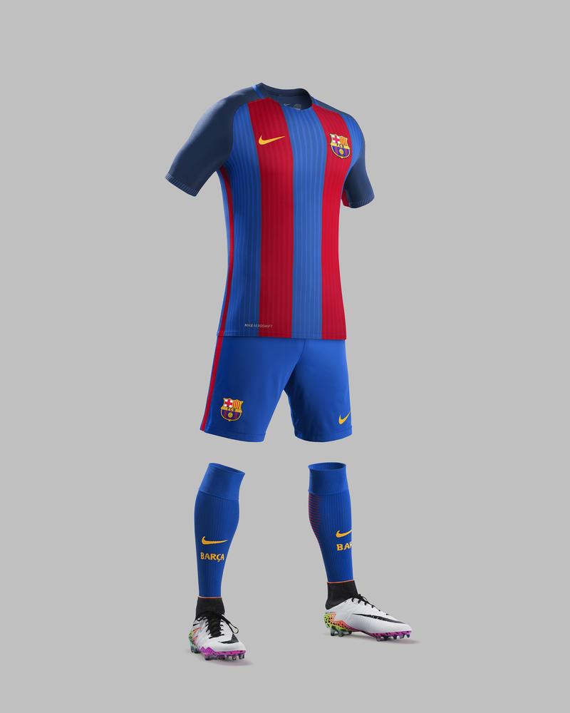 FC Barcelona Home Kit 2016-17