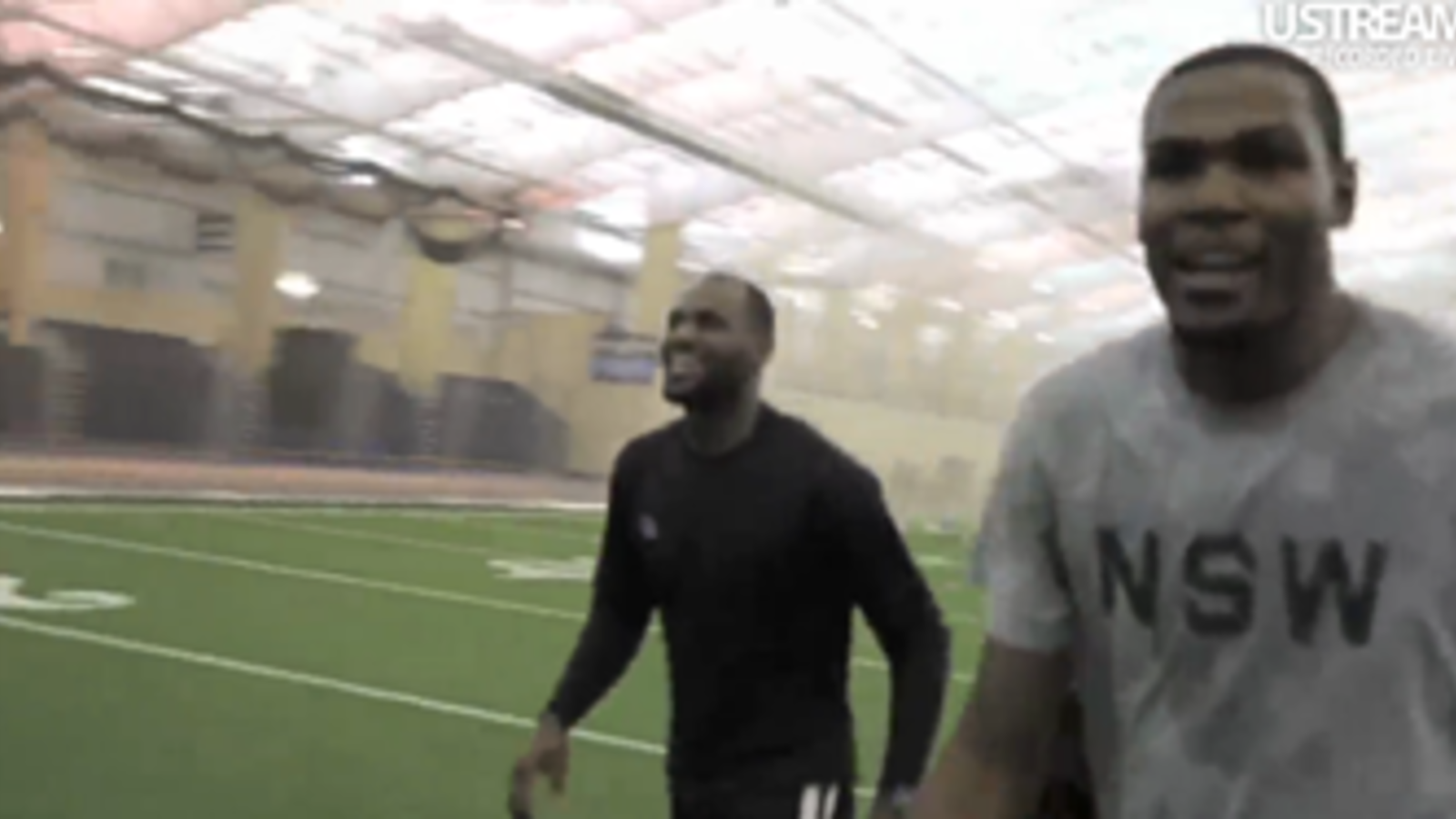 095a22f717fa LeBron James and Kevin Durant Play Flag Football Game - Nike News