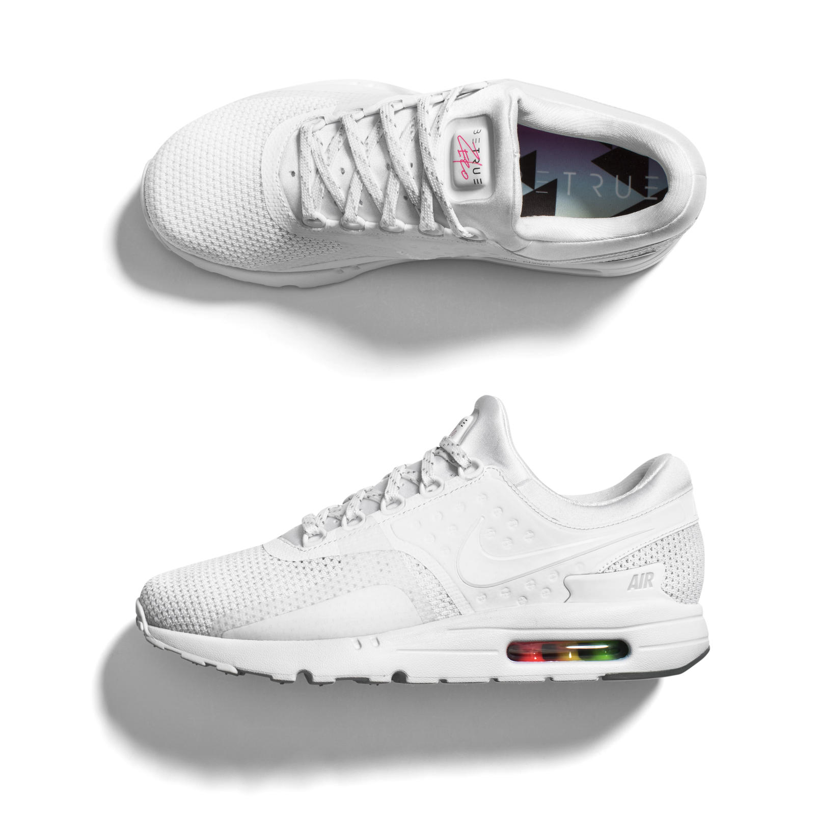 Where To Get These 'Triple White' Air Max Zeros Sneaker