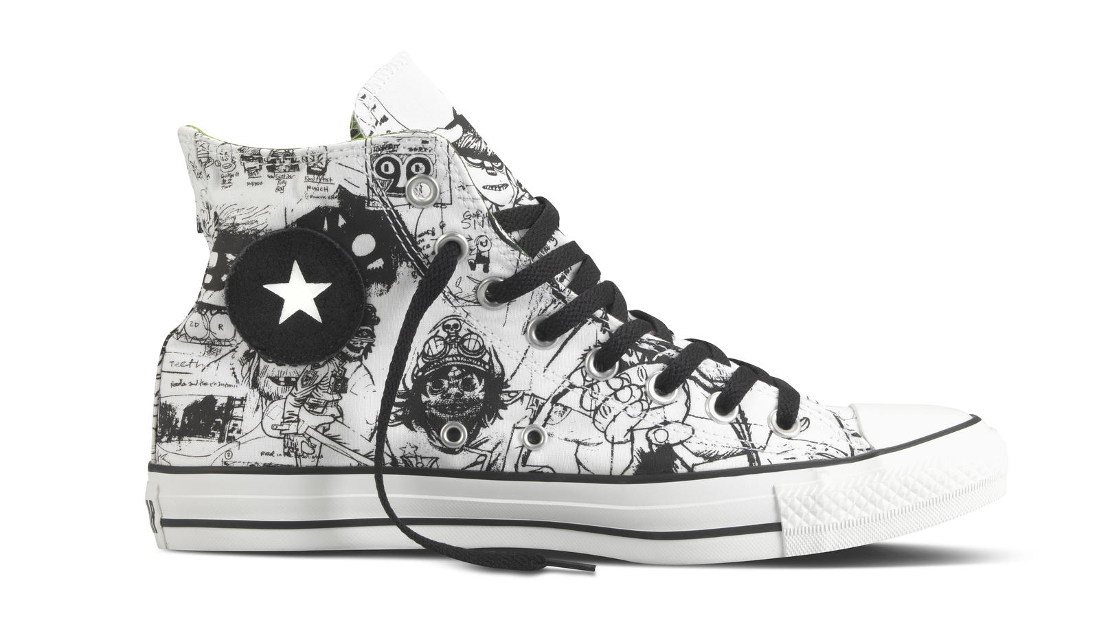 6a7cc6be3d5b00 Converse Unveils Spring 2012 Footwear Collection With Virtual Band ...