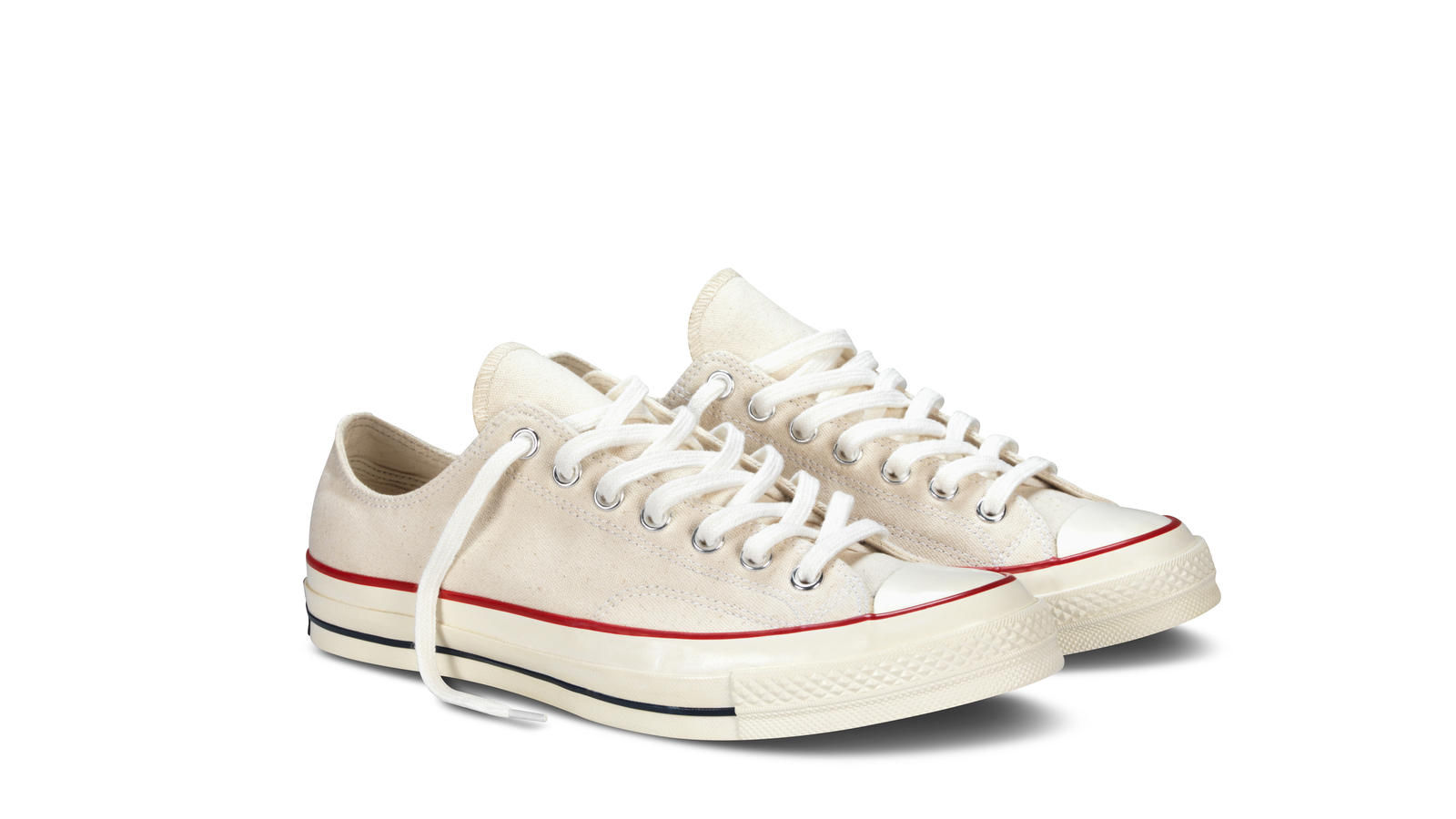 Converse 1970s Chuck Taylor All Star White Pair Diag Original